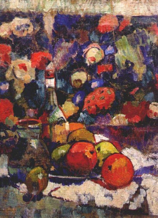 натюрморт, яблоки, фрукты